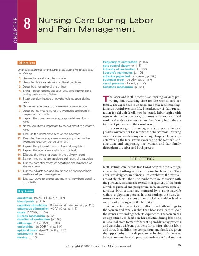 nursing pain management essay