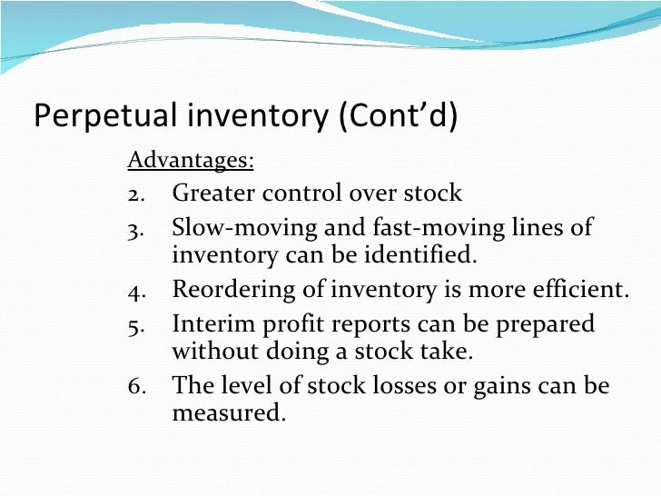 Chapter 8 perpetual inventory system clc