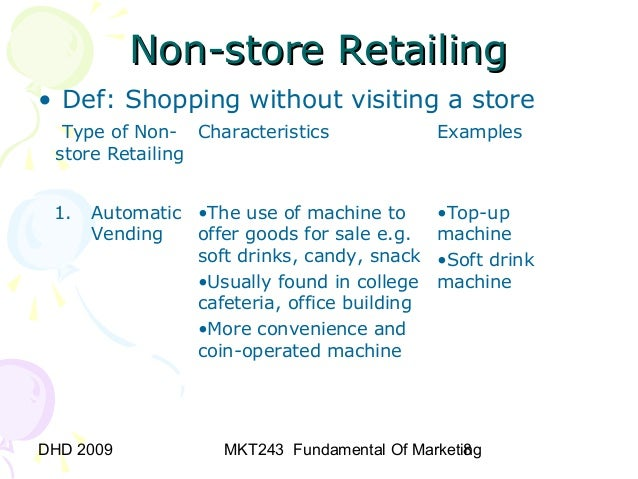 nonstore retailing Non-store retailing in kenya with 23 pages available at usd 990 for single user pdf at reportsweb research database.