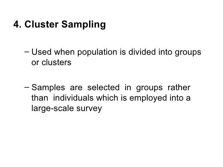 Chapter 8 Sample Sampling Techniques