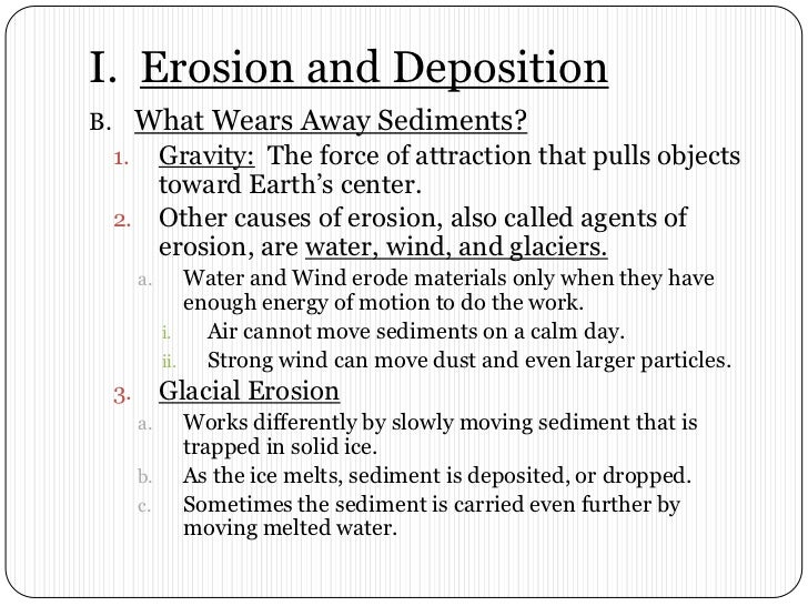 Chapter 8 section 1 erosion by gravity – Erosion Worksheet
