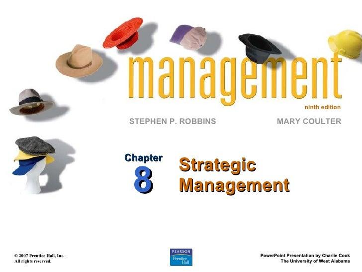 Strategic Management Chapter 8