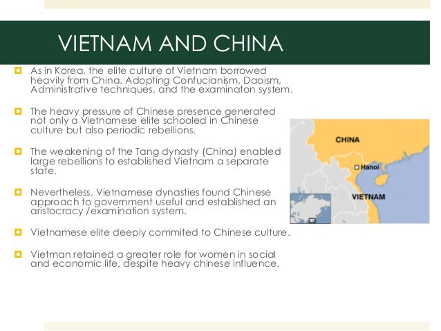 world cultures comparing china and the