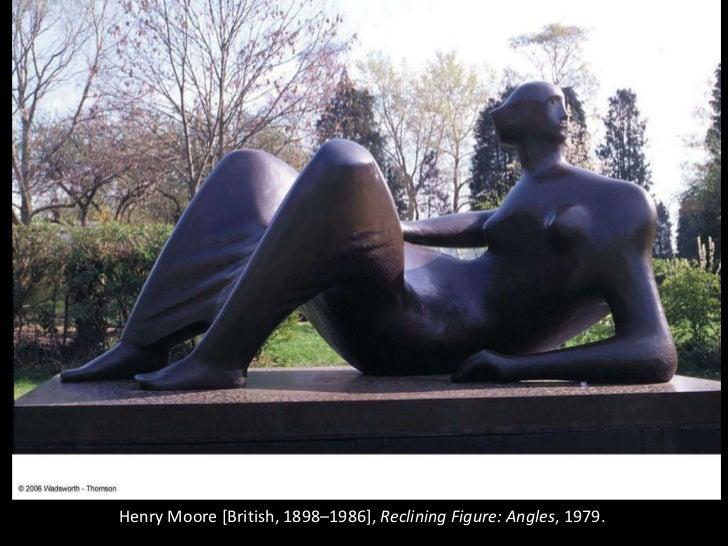 Henry Moore [British, 1898–1986],  Reclining Figure: Angles , 1979.
