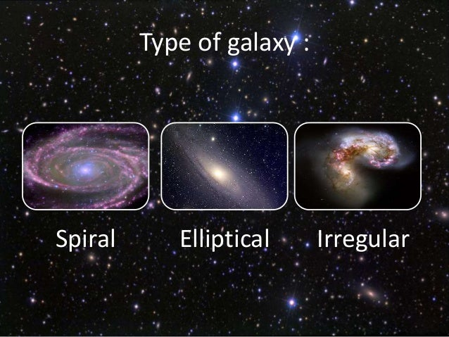 types of galaxies spiral - photo #35