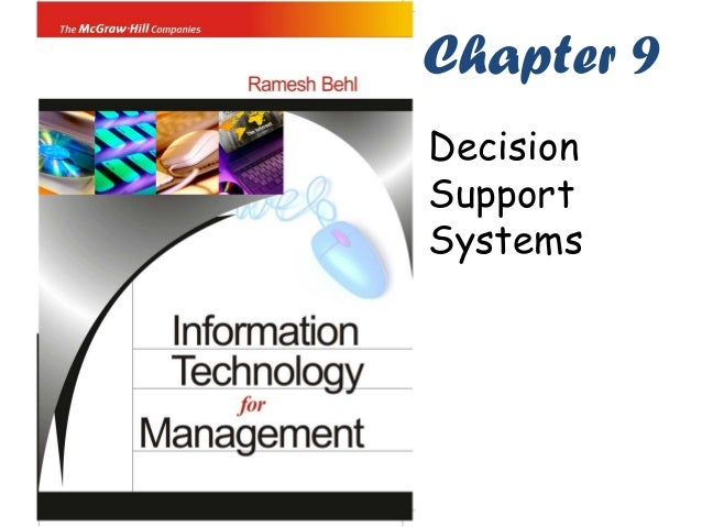 Chapter 9DecisionSupportSystems