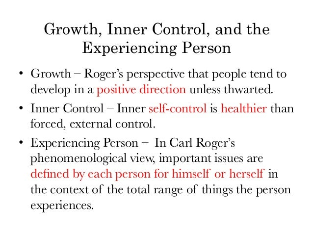 an analysis of the personal centered theory of carl rogers