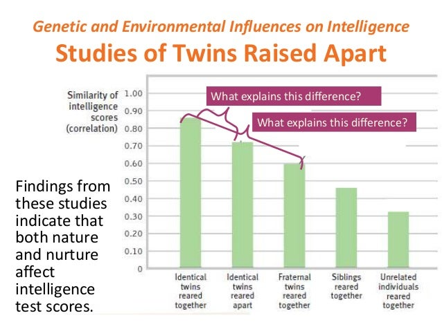 intelligence+nurture vs nature essay