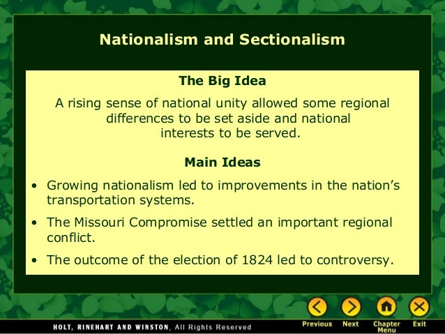 the idea of nationalism Find out information about nationalism political or social philosophy in which the welfare of the nation-state as an  the idea of nationalism (1944, repr.