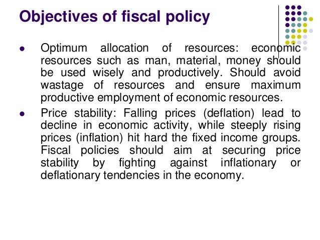 australias economic objective of resource allocation essay