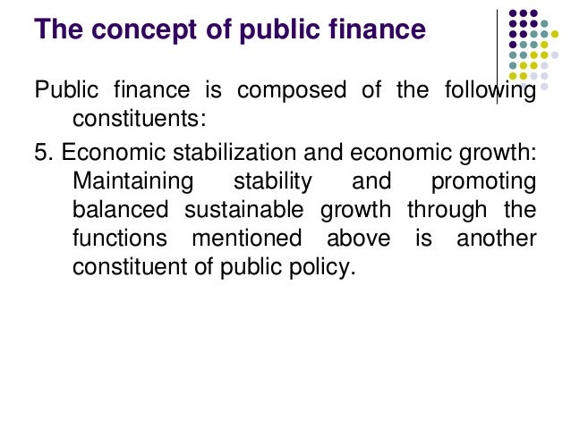 chapter 4 public finance answers Public finance information sources    are  unaccounted for, they cause market failure  private solutions could be used ( law suits.