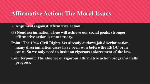a study of affirmative action in california In november 1998, the california electorate passed proposition 209 (54 to 46 percent), which banned many of the affirmative action programs in california the referendum was promoted by the nonprofit center for individual rights, which was also instrumental in building opposition to the university of texas admissions policy that was struck down.