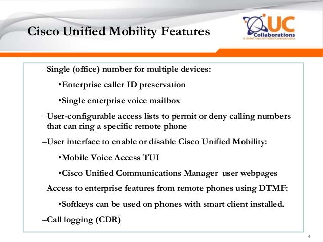 CCIE Collaboration Lecture Chapter 9 3 cucm mobility single