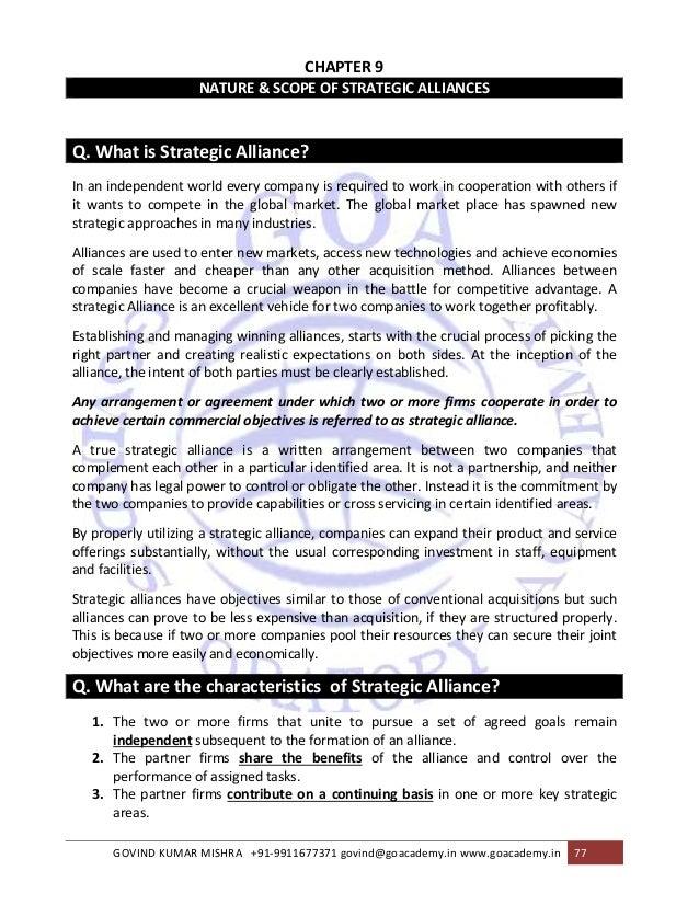 partnership agreement between two companies