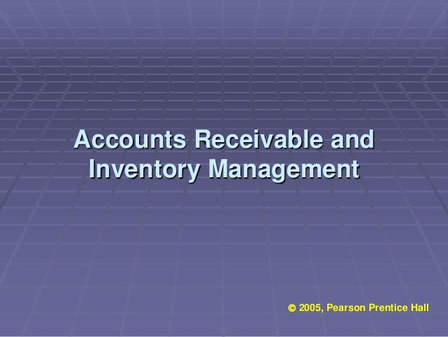 pearson accounts receveible