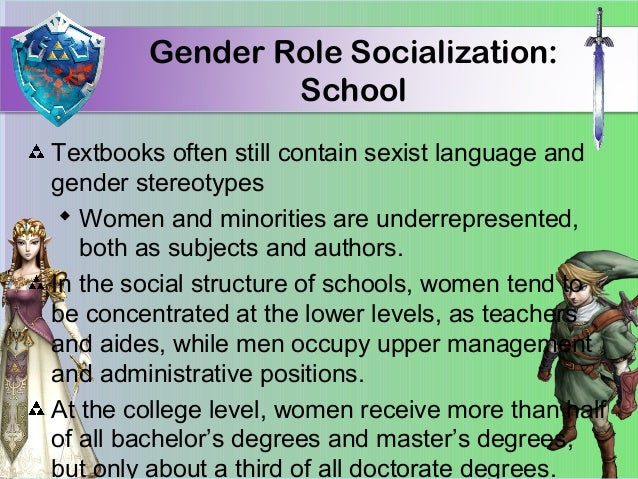 gender role socialization examples