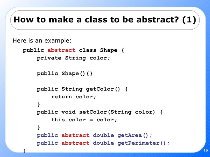 how to make an abstract
