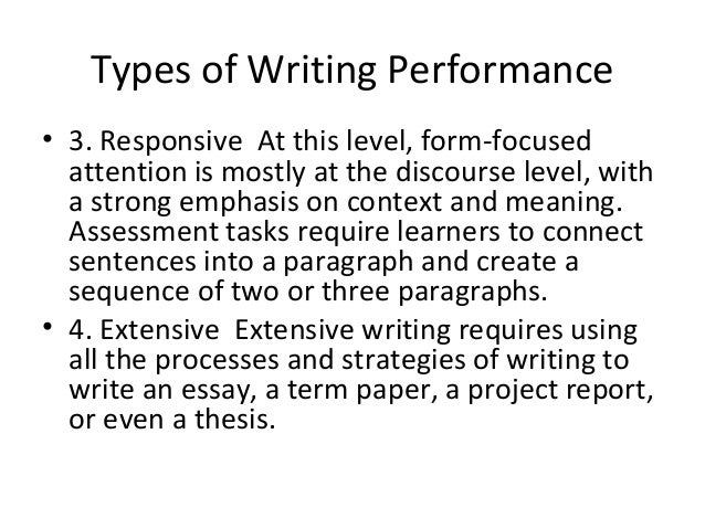 thesis on assessing writing Concepts to help write a thesis statement risk assessment phd thesis essay about water college admissions essays.