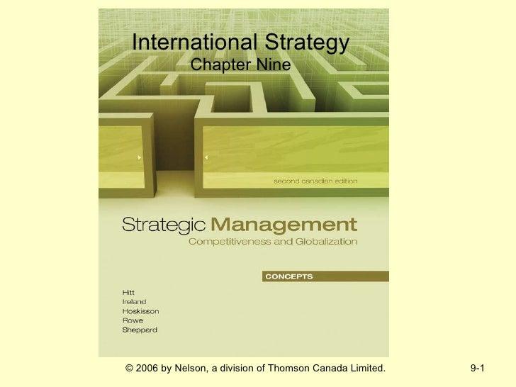 International Strategy Chapter Nine