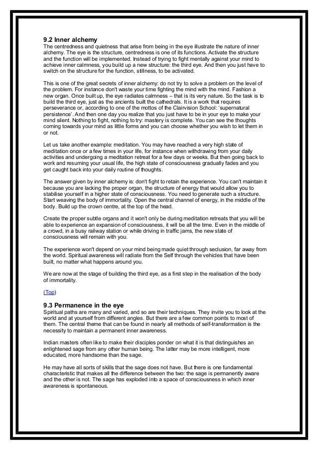 Chapter 9 - Awareness