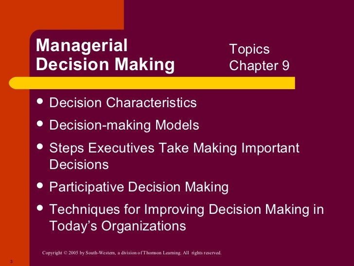 "managerial decision making biases The biases we bring to the process of decision-making  behaviors and decisions of people,"" according to enterprise risk management expert robert f wolf,."