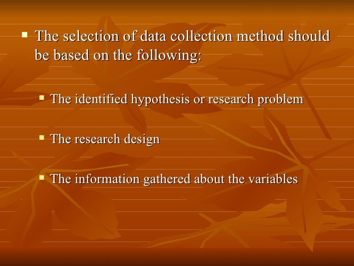 """methods of data collection essay Corbin and straus define theoretical sampling as """"a method of data collection based on concepts/themes derived from data"""" (2008, p 143) theoretical sampling is not something you can determine up front before you begin to collect data."""