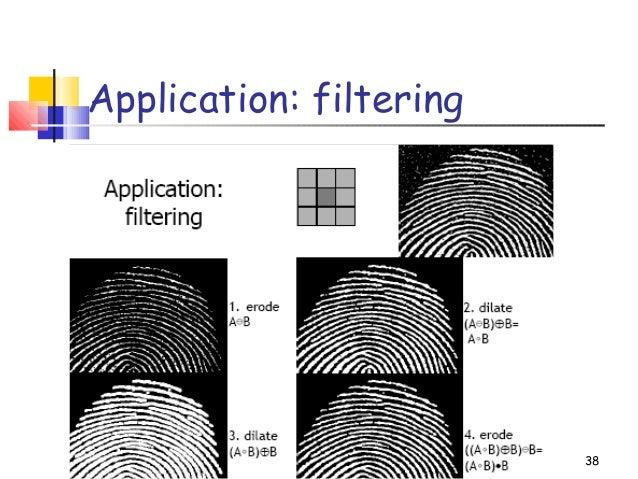 Application: filtering38