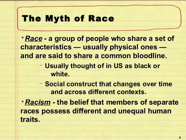 Racism and Its Effect on Society