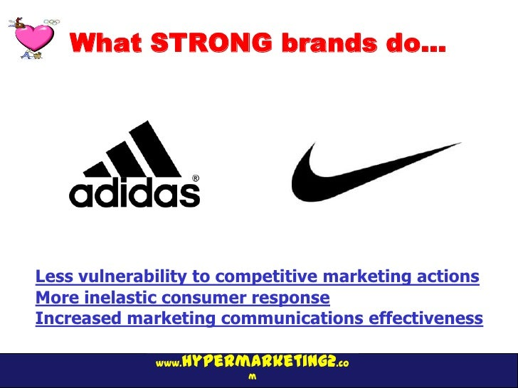 What STRONG brands do…Less vulnerability to competitive marketing actionsMore inelastic consumer responseIncreased marketi...