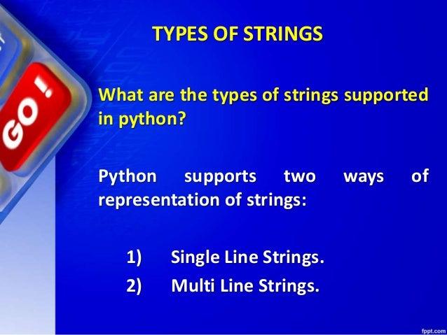Chapter 9 python fundamentals