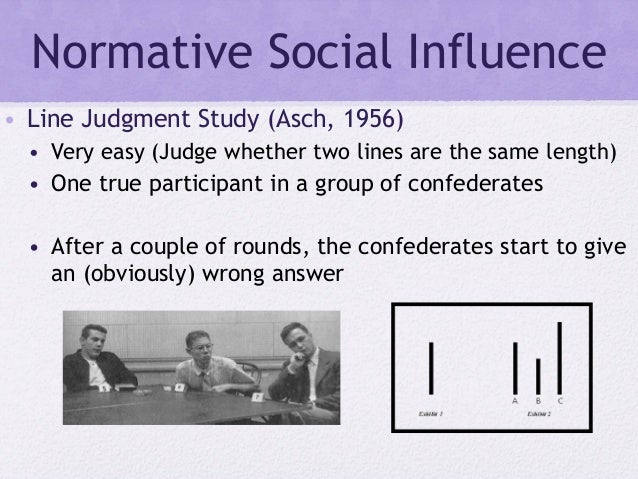 Normative social influence - Wikipedia