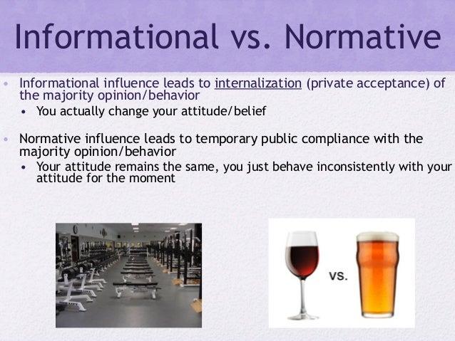 informative influence