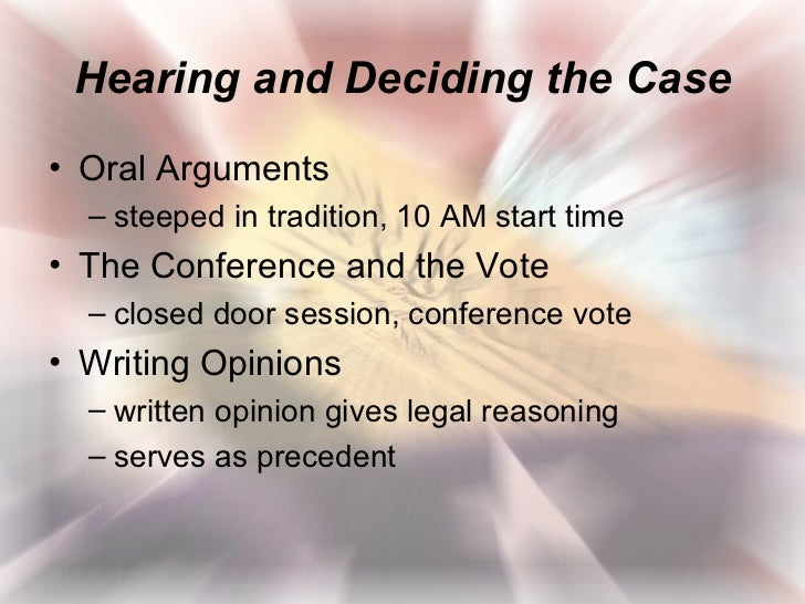 how courts use the system of precedent when deciding cases Therefore the legal definition of judicial precedent can be stated as a courts judgment quoted as an authority for deciding a similar set of facts a case which serves as authority for the legal principle established in its judgement.