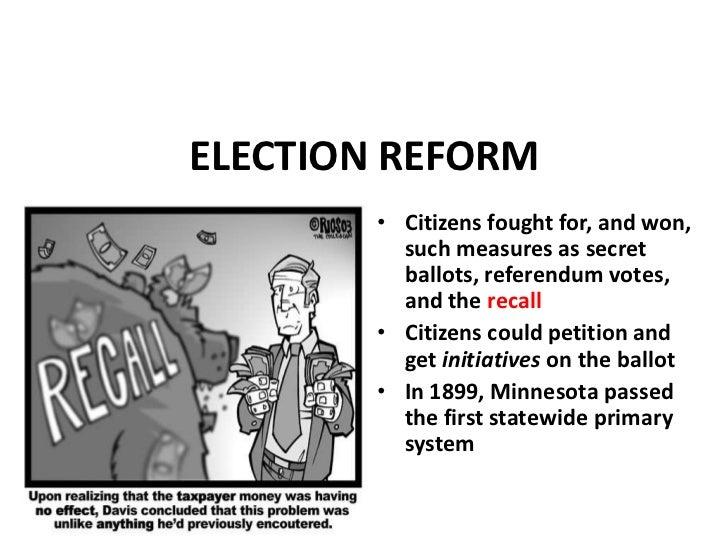 Recall Election Progressive Era Chapter 9 the progress...