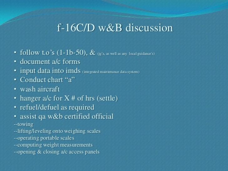 Chapter 9 Weight Balance Presentation