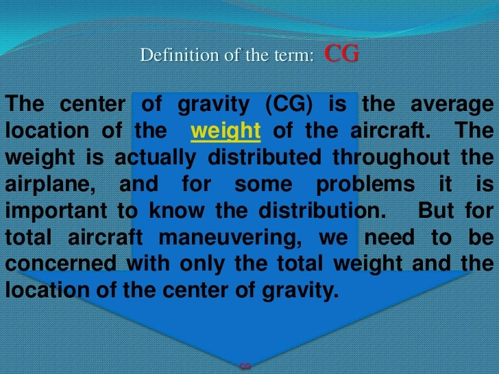 Ppt aircraft weight and balance powerpoint presentation id:2452985.