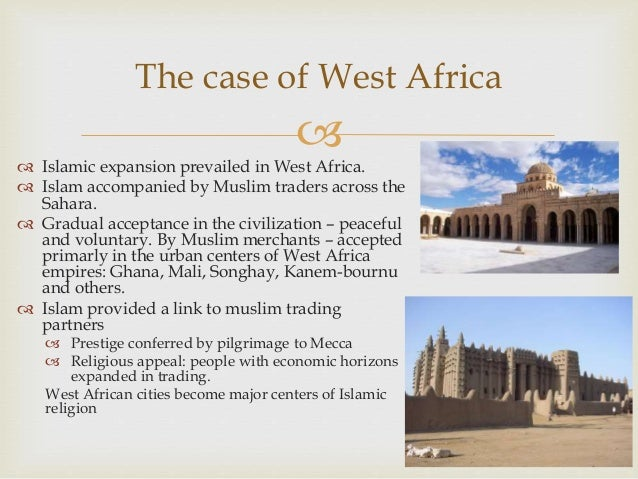Help Writing A Thesis On Islam In West Africa
