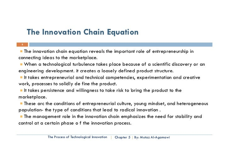 Essential of Technology Entrep. & Innovation- Chapter five process o…