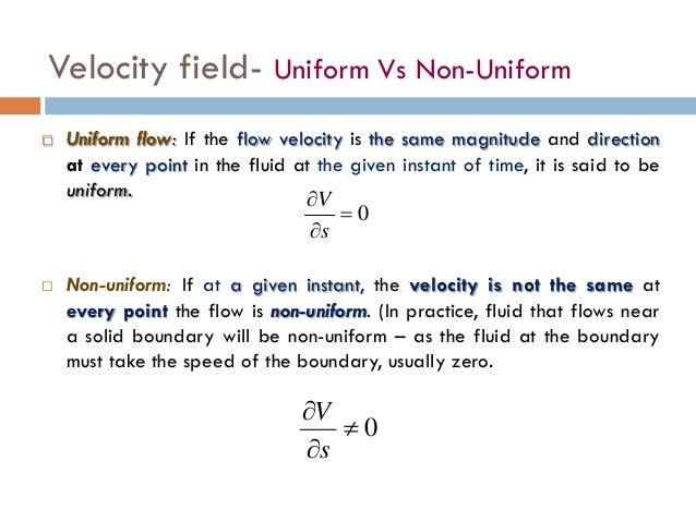 Chapter four fluid mechanics