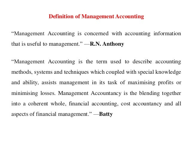 certified management accountant definition