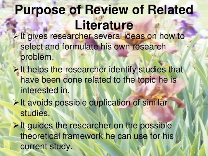 chapter 2 of thesis review of related literature and studies Previous toc ch 1 ch 2 ch 3 ch 4 ch 5 ref questions glossary next aphroweb home thesis index commitment in polyamorous relationships chapter 2: literature review monogamy, marriage and commitment.