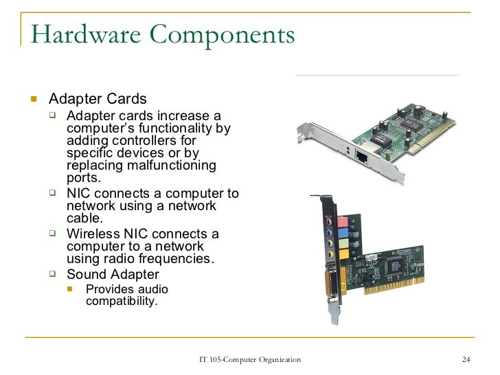 hardware components of a computer The three main components of a computer are processor memory storage.