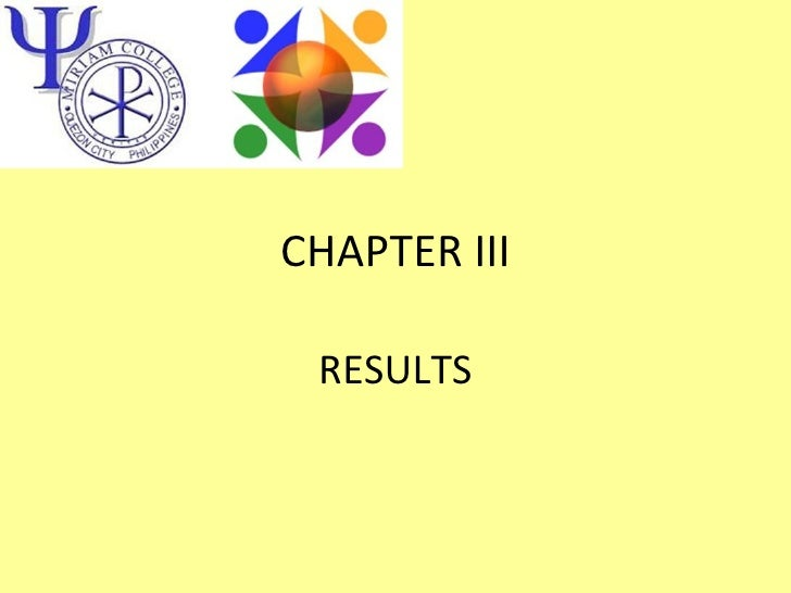 CHAPTER III RESULTS