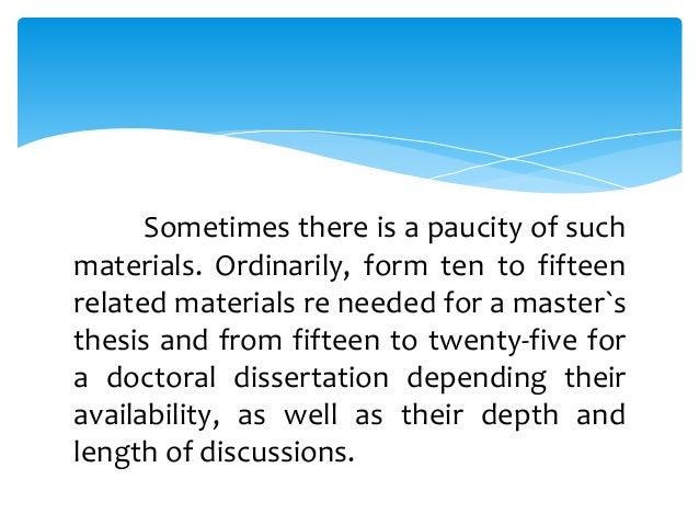 apa citation of unpublished masters thesis