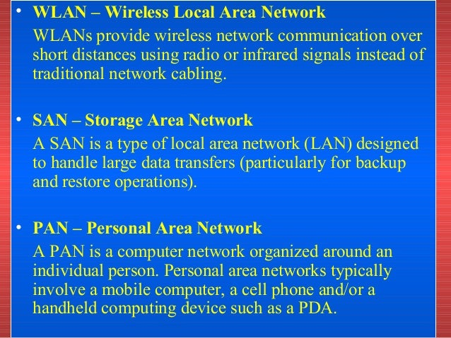 Types of network cb lan man and wan ppt clm: căutați ûi găsiți.