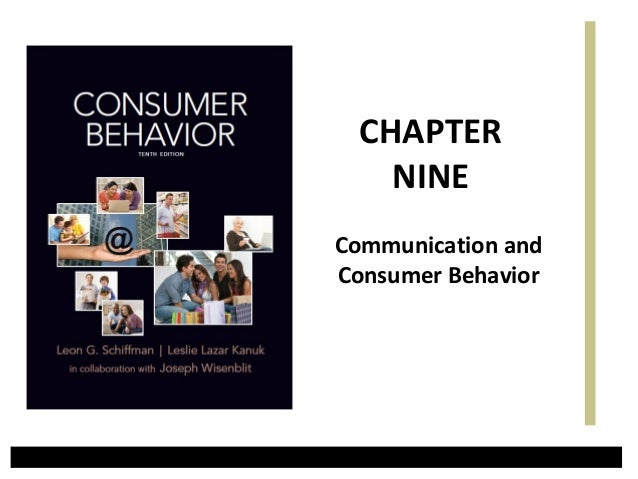 Communication andConsumer BehaviorCHAPTERNINE