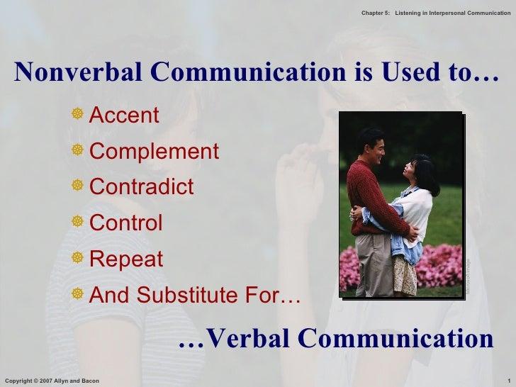 <ul><li>Accent </li></ul><ul><li>Complement </li></ul><ul><li>Contradict </li></ul><ul><li>Control </li></ul><ul><li>Repea...