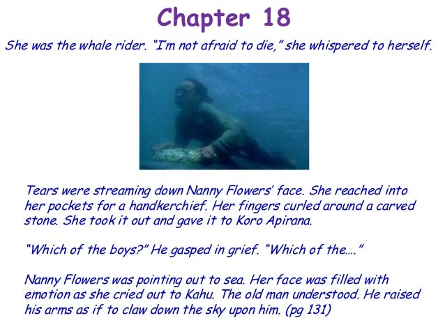 whale rider book summary