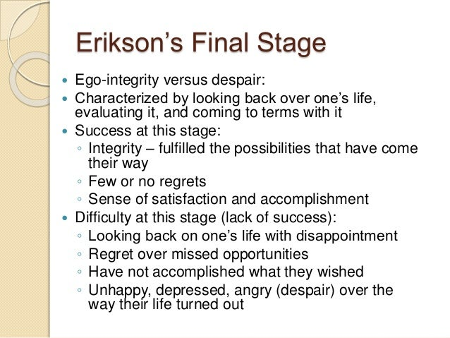 Eriksons stages of psychosocial development  Wikipedia