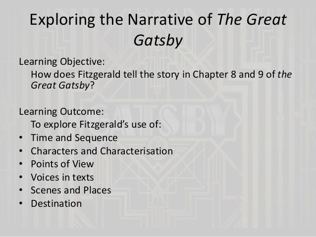 climax of the great gatsby
